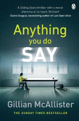 Anything You Do Say - image sourced by Waterstones UK